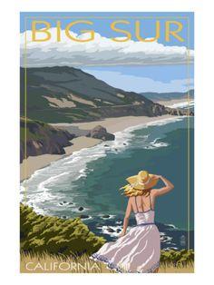 Big Sur, California Coast Scene Prints at AllPosters.com