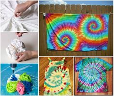 DIY Cool Sharpie Tie Dye  Shirt #diy #crafts
