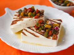 Receta de Queso Panela Asado con Jitomate | Receta de queso panela asado con jitomate, me encanta, es como la caprese pero con queso panela, muy light.
