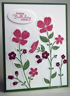 Wildflower Meadow Card by eschader - Cards and Paper Crafts at Splitcoaststampers