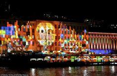 """""""14º Festival das Luzes"""" em Lyon, França"""