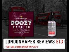 Doozy Vape Co - Strawberry Supreme E-Liquid Review - YouTube
