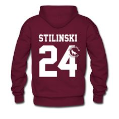 """STILINSKI 24"" - Hoodie (S Logo) | TEEN WOLF Merchandise (All purely FAN MADE :)"