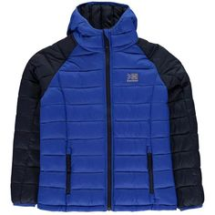 Karrimor Hot Rock Insulated Jacket Unisex Junior Boy/Girl Elite Blue Cold Weather, Kids Outfits, Winter Jackets, Unisex, Boys, Long Sleeve, Sleeves, Clothes, Shopping