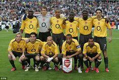 The Arsenal team that started the Champions League final in 2006 was full of skill, pace a. Champions League 2006, Champions League Football, Francis Coquelin, Thierry Henry, Arsene Wenger, We Are The Champions, Transfer Window, Vintage Football, Arsenal Fc
