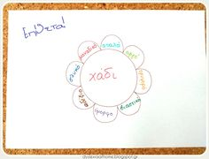 Το λουλούδι της γραμματικής! Εργαλείο Γραμματικής για την Δυσλεξία Dyslexia, Special Education, Place Cards, Place Card Holders, Teaching, School, Therapy, Schools, Teaching Manners