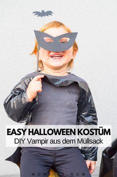 Mamas aufgepasst - Last Minute Halloween Ideen, einfach Last Minute, Halloween Kostüm, Batman, Superhero, Hoodies, Movie Posters, Fictional Characters, Blitz, Vampire Costumes