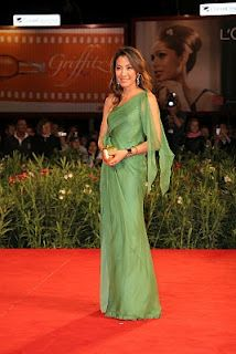Michelle Yeoh - Alberta Ferretti dress
