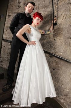 Wedding dress ideas, I like this one for the longer lenght