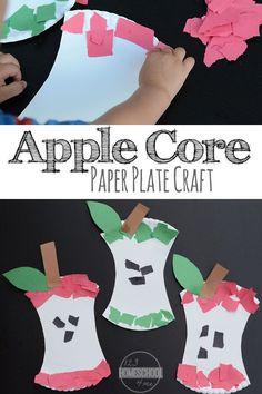 Apple Core Paper Pla