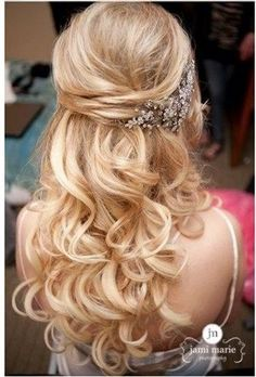 The Power Of Makeup: Stunning Half Up Half Down Wedding Hairstyles with Tutorial