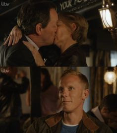 Inspector Lewis and Laura Hobson | James Hathaway = FINALLY and PRICELESS :)