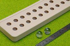 立体 シリコン モールド レジン 樹脂 粘土 ハンドメイド アクセサリー 製作 ダイヤ 宝石 円球 型 ( ダイヤ ②)