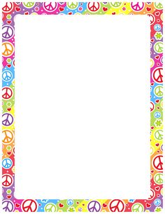 Free Printable Page Borders School full page borders 1 2 next