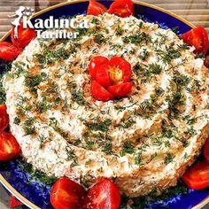 Cocostar Muffin Rezept, How To - Weibliche Rezepte - Bulgur Sellerie Salat Rezept - Muffin Recipes, Raw Food Recipes, Salad Recipes, Cooking Recipes, Celery Salad, Pasta, Most Delicious Recipe, Turkish Recipes, Healthy Salads