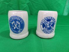 Vtg GERZ Stoneware SHOT GLASS Lot of 2 Germany MUNCHEN Stone Shot Cups Set   Collectibles, Barware, Shot Glasses   eBay!