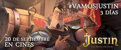 Ambientada en un mágico mundo medieval con el que los niños siguen soñando, JUSTIN y LA ESPADA DEL VALORes una emocionante historia que nos habla de la constancia con la que un chico persigue sus propios sueños. Una aventura llena de emoción, acción y diversión, en la que se entremezclan la amistad, el honor y el valor. #justinylaespadadelvalor #estreno #cine 20 de Septiembre en #cines. http://aliwood.net/peliculas/justin-y-la-espada-del-valor/