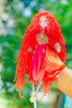 Christmas in july magic creatures Spirit Doll Forest spirit