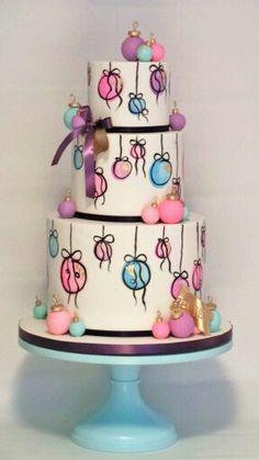 The Sugar Nursery hand-picked ornament cake