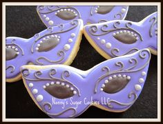 quinceanera sugar cookies | Nanny's Sugar Cookies LLC