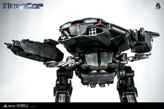 """16"""" tall RoboCop ED-209 will be available for pre-order at www.threezerostore.com , starting from December 29th 9:00AM Hong Kong time for 450USD / HKD 3480 and we will do our best to keep the pre-order open for some time. Full pre-order info: https://www.facebook.com/media/set/?set=a.1024368100922351.1073741903.697107020315129&type=1&l=946257721c #threezero #RoboCop #RoboCop2014 #ED209 #collectible #toy #toys #hobby #collecting #toyphotography #actionfigure #toycollector #robot #cop #police"""