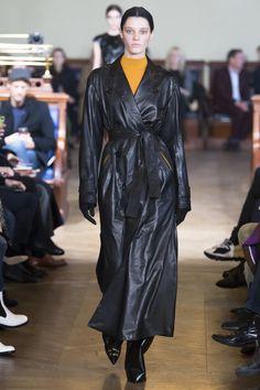 Olivier Theyskens Fall 2017 Ready-to-Wear Fashion Show - Leila Goldkuhl
