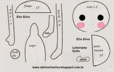 Lala Loopsy doll pattern