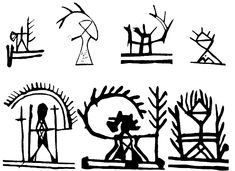 Shaman´s drum symbols in Scandinavia Esoteric Symbols, Ancient Symbols, Ancient Art, Drum Patterns, Religion, Africa Art, Art Nouveau, Art Deco, Drawing Practice