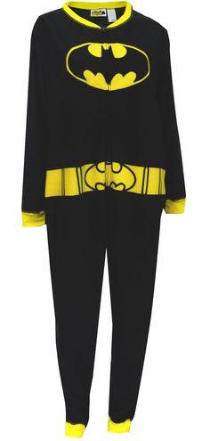 DC Comics Batgirl Fleece Plus Size One Piece Pajama