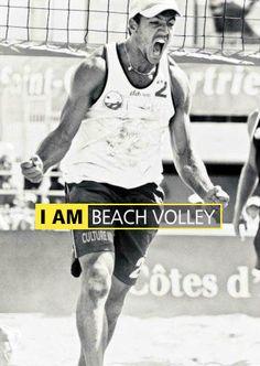 Edouard Rowlandson (FRA)  by Karim Levy - Beach volleyball