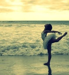 ballet and the beach. two of my favorites