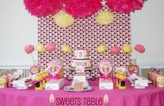 TRENDS: Beautiful Dessert Tables for Girls on Catch My Party - Part 2 | Catch My Party