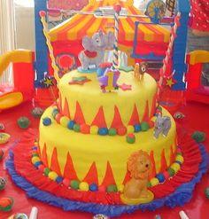 Carnival Themed Cakes | Kel Baking Life: Carnival /Circus Cake