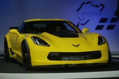 The 2015 Corvette Z06 is unveiled to the media during the 2014 North American International Auto Show held at Cobo Center in downtown Detroit on Monday, Jan. 13, 2014.