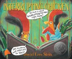 Children's Book Review, Interrupting Chicken - such a fun children's picture book!