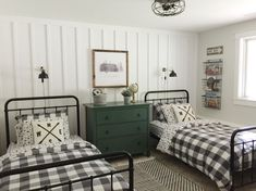 This is my favorite before and after so far. The younger two boys bedroom is just about done! They asked for a camping theme bedroom so… room room home decor lighting room decor room decor wall office decor ideas decoration design room Home Bedroom, Kids Bedroom, Boys Bedroom Themes, Shared Boys Rooms, Shared Bedrooms, Big Boy Bedrooms, Boy Rooms, Kids Rooms, Camping Theme