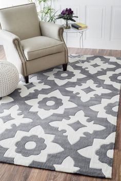 nuLOOM Handmade Modern Fancy Kids Rug x - Overstock Shopping - Great Deals on Nuloom - Rugs Trellis Pattern, Rug Store, Rugs Usa, Hand Tufted Rugs, Grey Rugs, Modern Rugs, Home Furnishings, Home Accessories, Color Pop