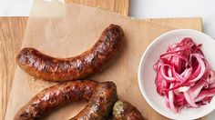 Lamb Masala Sausage - Bon Appétit Recipe | Bon Appetit
