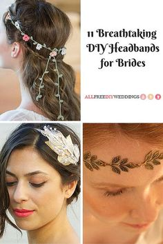 11 Breathtaking DIY Headbands for Brides | This DIY headbands for brides are so beautiful they'll leave you speechless.