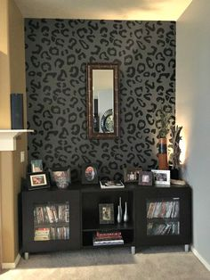 Leopard Wall Decor 50 budget friendly bedroom ideas: leopard print decor decal