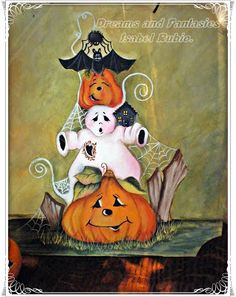 Dreams & Fantasies: Pintura decorativa Dream Fantasy, Snoopy, Craft Ideas, Dreams, Fall, Crafts, Fictional Characters, Pintura, Autumn