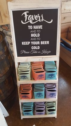 Koozie booth at Alturia Farm wedding The main construction connected with us will undoubtedly be Farm Wedding, Diy Wedding, Rustic Wedding, Dream Wedding, Wedding Day, Wedding Stuff, Cute Wedding Ideas, Wedding Goals, Perfect Wedding