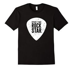Spare Time Rock Star - Cool Musician T-Shirt Cool Tees, Cool T Shirts, Boston Terrier Love, Best Tank Tops, T Shirts With Sayings, Graphic Shirts, Branded T Shirts, Funny Tshirts, Fashion Brands