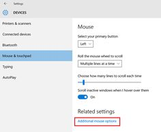 How to change Mouse Scroll Speed in Windows 10