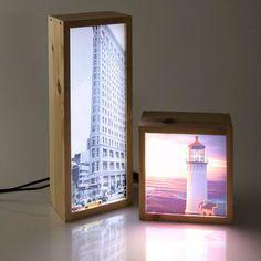 Lightbox idea for DIY Lamp Design, Lighting Design, Lighting Ideas, Decorating Your Home, Interior Decorating, Neon Box, Bois Diy, Ideias Diy, Room Lamp