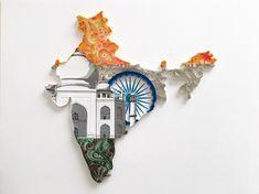 India  #quilling #paper #art #paperart #paperquilling #papercut #papercutting #india #tajmahal #country #map #flag #geography #zentangle #クイリング #ペーパー #ペーパーアート #紙 #切り絵 #インド #タージマハル #地図 #国旗