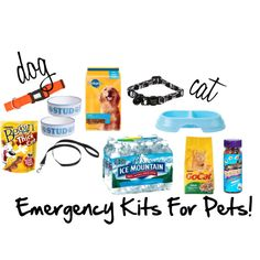 Emergency Kits For Pets!