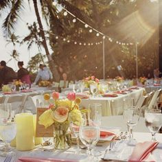 Brides: A Romantic, Vintage Wedding in Hawaii | Romantic Weddings | Real Weddings | Brides.com