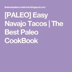 [PALEO] Easy Navajo Tacos | The Best Paleo CookBook