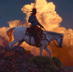 "somethingsomethinglatin: "" The art of Mark Maggiori Oil "" Into The West, New West, Westerns, Cowboy Art, Southwest Art, Le Far West, Western Art, Western Wild, Cowboy Western"